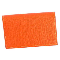 エルメス 名刺入れ(メンズ) エルメス HERMES カードケース P-CARTES MC2 DARWIN 043023CA ダーウィン 名刺入れ オレンジ