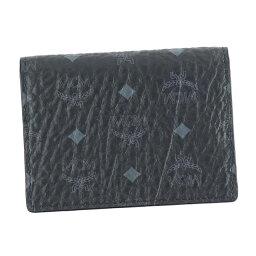 エムシーエム MCM エムシーエム MXC6AVI20 カードケース 名刺入れ BK BK00 2 FOLD CARD WALLET ブラック