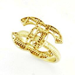 シャネル 指輪 シャネル CHANEL A64607 DORE チェーンミー COCO ココマーク CCロゴ リング 指輪 実寸14号