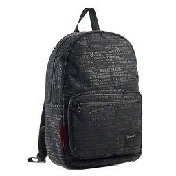ディーゼル ディーゼル DIESEL リュックサック X04812 PR027 H5839 DISCOVER BACK リュック バックパック ALLOVER LOGO ブラックロゴ柄