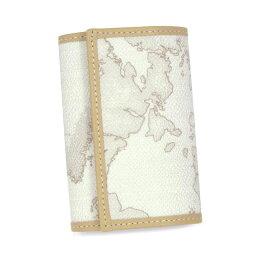 プリマクラッセ プリマクラッセ PRIMACLASSE キーケース ホワイト ポケット 6連 鍵 かぎ カギ キー レザー PVC レディース 地図柄 メンズ ブランド