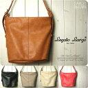 Legato Largo ショルダーバッグ ショルダーバッグ レディース 斜めがけ/バケツ型 ショルダーバッグ/レガートラルゴ Legato Largo ショルダーバッグ