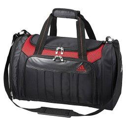 アディダス adidas アディダス/ゴルフ ボストンバッグ/AWR93 A10231/ブラック×レッド/L49×W26×H30cm/BB168