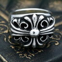 クロムハーツ キーパーリング 指輪 シルバー925 高品質 メンズ レディース スワロフスキーキュービックジルコニア シルバーアクセサリー 選べるサイズ silver925 太幅リング ワイドリング メンズリング