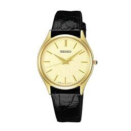 ドルチェ&エクセリーヌ セイコー ドルチェ SACM150 SEIKO DOLCE 薄型 クオーツ腕時計 ワニ革ベルト メンズ 【長期保証5年付】