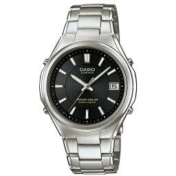 ウェーブ カシオ ウェーブセプター LIW-120DEJ-1AJF 電波ソーラー腕時計 リニエージ メンズ 【長期保証5年付】
