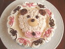 アイスケーキの通販 手作り誕生日アイスケーキ・ハッピークマさん5号