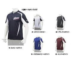 ウエア ミズノ ベースボールシャツ Tシャツ 半袖 12JC7L07 野球部 ウェア ウエア メンズ 野球用品 スワロースポーツ