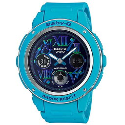 カシオ Baby-G 腕時計(メンズ) CASIO カシオ Baby-G ベビーGコズミックインデックスシリーズBGA-150GR-2B ネイビー×ブルー 腕時計海外モデル 新品