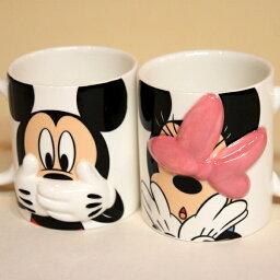 ミッキーマグカップ 【ラッピング無料】ディズニー ミッキーマウス&ミニーマウス ハイディングマグペア