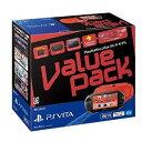 PSVITA 【新品】PS VITA本体 PlayStation Vita Value Pack Wi-Fiモデル レッド ブラック