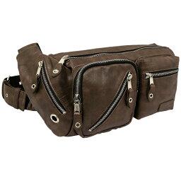 トリックスター 送料無料 TRICKSTER トリックスター KEITH キース 【ダークブラウン】【tr24-dbr】メンズ ボディバッグ 斜めがけ ショルダーバッグ men's body bags かばん 鞄 ボディ・バッグ ボディbag