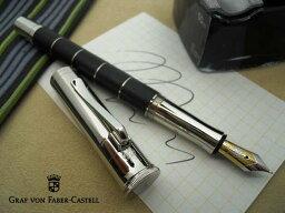 ファーバーカステル ファーバーカステル Faber-Castell クラシックコレクション アネロ 万年筆 18金 ブラック (Fサイズ) GF145501