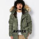 アヴィレックス AVIREX 公式通販|ファー取外し可能 ミリタリーコートN-3B COMMERCIAL(アビレックス/アヴィレックス)【送料無料】