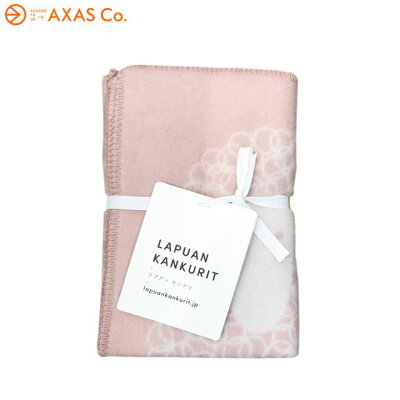 【plokh】 Lapuan Kankurit(ラプアン カンクリ) LAMMAS blanket Col.rosa-white
