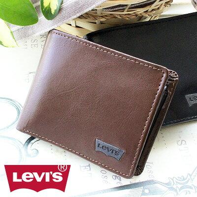 2つ折り財布 財布 11128201 リーバイス Levi's 二つ折り財布 財布【メール便配送商品/ラッピング不可】