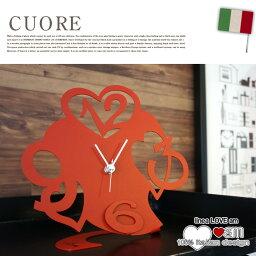 ARTI&MESTIERI 時計 CUORE(クオーレ)置き時計 ラブ(LOVE) アルティ・エ・メスティエリ(ARTI&MESTIERI) デザインインテリア