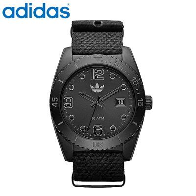 40963029d5 送料無料 adidas アディダス 腕時計 ブリスベンオールブラック 10気圧防水 ADH2864