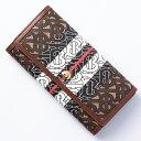 バーバリー BURBERRY 長財布 財布 メンズ レディース ハルトン TB モノグラム ブライドルブラウン LS HALTON 8022012 A7436