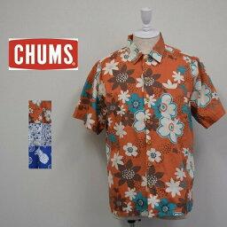 チャムス メンズ/CHUMS チャムス/Chumloha Shirt チャムロハ アロハシャツ 半袖 シャツ/CH02-1073