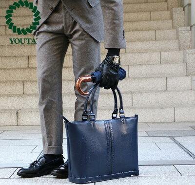 トートバッグ トートバッグ メンズ レザー 防水 自立 ビジネスバッグ ブリーフケース 軽量 A4 ビジネス