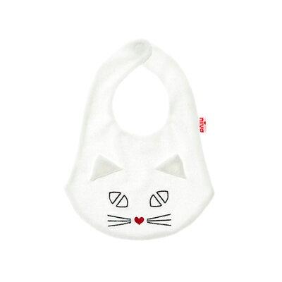 【ポイント10倍】niva (ニヴァ) cat bib スタイ