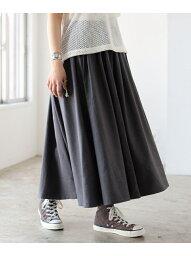 グラミチ [Rakuten Fashion]GRAMICCI / 別注 ギャバ ロング スカート BEAMS BOY ビームス ウイメン スカート ロングスカート ベージュ ネイビー【送料無料】