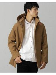 ビームス BEAMS HEART / フード付き スタンドカラー コート BEAMS HEART ビームス ハート コート/ジャケット ダッフルコート ブラウン グレー ネイビー【送料無料】[Rakuten Fashion]