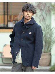 ビームス [Rakuten Fashion]DANTON / Wool Mosser BEAMS MEN ビームス メン コート/ジャケット ブルゾン ネイビー グレー【送料無料】