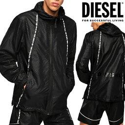 ディーゼル DIESEL ディーゼル メンズ フードパーカー ナイロンジャケット パックブルBMOWT-WINDY 00SQ01 0BAUZアウター ジャケット ジャンバー マウンテンパーカー シャカシャカ大きいサイズあり 薄手 スイムパーカー