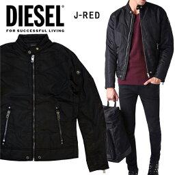 ディーゼル DIESEL ディーゼル メンズ ナイロンジャケットJ-RED GIACCA ブラック アウター ジャケット ブルゾン大きいサイズ ビッグサイズあり