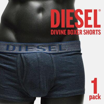 メンズ ボクサーパンツ ディーゼル/ DIESEL 00CEM300 DIVINE 1PACK BOXER PANTS
