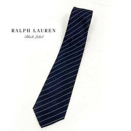 ラルフローレン ネクタイ BLACK LABEL by Ralph Lauren ラルフローレン ブラックレーベル ストライプ ネクタイ/NAVY あす楽