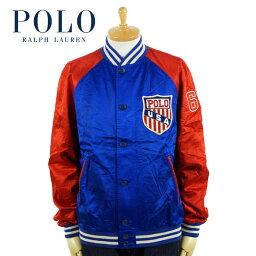 ラルフローレン ラルフローレン POLO Ralph Lauren バーシティー インスパイア ジャケット サテン スタジャン USA