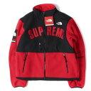 シュプリーム Supreme (シュプリーム) 19S/S ×THE NORTH FACE デナリフリースジャケット(Denali Fleece Jacket) レッド M 【メンズ】【K2246】【あす楽☆対応可】