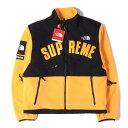 シュプリーム Supreme (シュプリーム) 19S/S ×THE NORTH FACE デナリフリースジャケット(Denali Fleece Jacket) イエロー S 【メンズ】【K2325】【あす楽☆対応可】