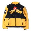 シュプリーム Supreme (シュプリーム) ジャケット 19SS × THE NORTH FACE デナリ フリースジャケット Denali Fleece Jacket イエロー S 【メンズ】【K2395】【あす楽☆対応可】