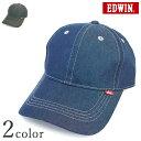 エドウイン エドウィン デニムローキャップ DS434【y-0161】 EDWIN 帽子 CAP メンズ 男性 紫外線対策 UVケア 日よけ