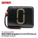マークジェイコブス 二つ折り財布 レディース ブランド レディース 二つ折り財布 MARC JACOBS マークジェイコブス Snapshot Mini Compact Wallet M0013360 014 Black Chianti_4582357843890_21