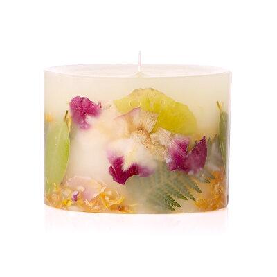 キャンドルRosy Rings Petite Botanical Candles ロージーリングス プティボタニカル キャンドル ユズ&ワイルドパーム(10×H7.5cm) アロマキャンドル 燃焼時間:約60時間 BOP-YWP母の日 ギフト プレゼント