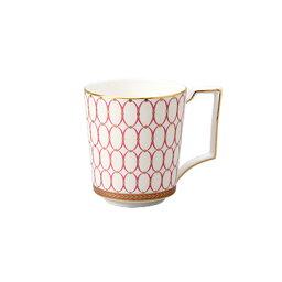 ウェッジウッド カップ ウェッジウッド ルネッサンスゴールド マグカップ ピンク