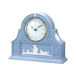 ウェッジウッド 時計 ウェッジウッド ジャスパーウェア ペールブルー マントルクロック