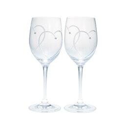 ウェッジウッド ウェッジウッド プロミシス 『トゥー ハーツ』 ワイングラス ペアギフトセット