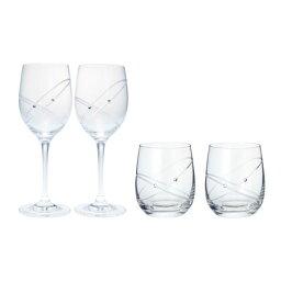 ウェッジウッド ウェッジウッド プロミシス 『ウィズ ディス リング』 ワイン&タンブラーグラス ペアギフトセット