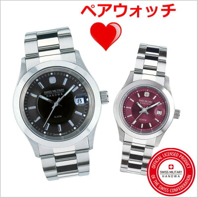 50cba9f22f スイスミリタリー 腕時計SWISS MILITARY ペアウォッチ(男女2本セット)ELEGANT PREMIUM エレガント