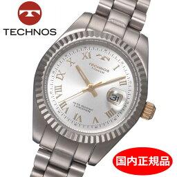 テクノス 【テクノス】 TECHNOS 腕時計 レディース チタン製 TSL915IS