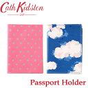 キャスキッドソン パスポートケース レディース メール便 送料無料 キャスキッドソン パスポートホルダー