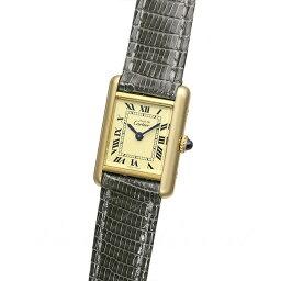 マストタンク カルティエ CARTIER マストタンク 【アンティーク】 時計 レディース