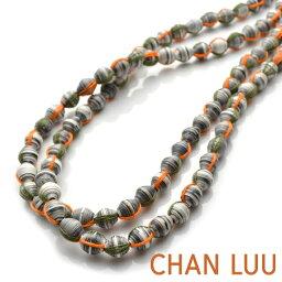 チャンルー チャンルー THE HAITI COLLECTION ペーパービーズ レイヤリングネックレス エシカル チャン・ルーCHAN LUU