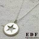 イーディーエフ イーディーエフ【EDF】ワンスターツイストフレームポリッシュペンダント